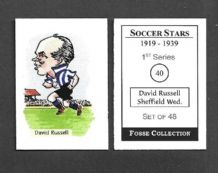 Sheffield Wednesday David Russell 40 (FC)